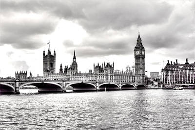 London Town Print by Fizzy Image
