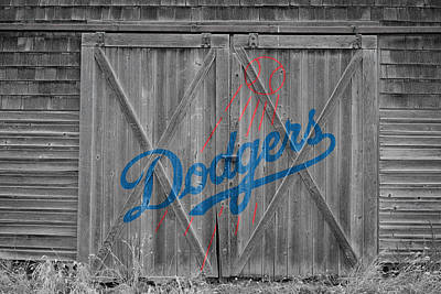Los Angeles Dodgers Art Print by Joe Hamilton