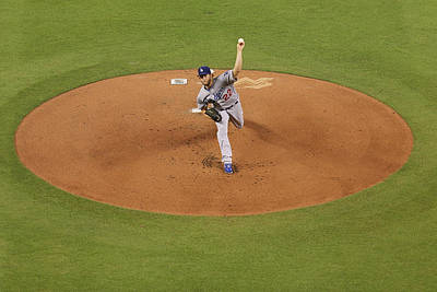 Photograph - Los Angeles Dodgers V Miami Marlins by Rob Foldy
