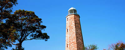 Cape Henry Lighthouse Photograph - Low Angle View Of A Lighthouse, Cape by Panoramic Images
