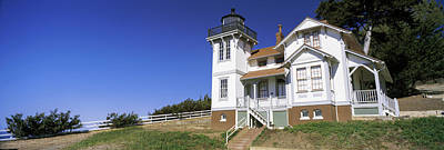 San Luis Obispo Photograph - Low Angle View Of A Lighthouse, Point by Panoramic Images