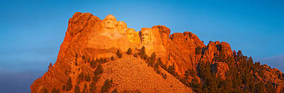 Low Angle View Of A Monument, Mt Art Print by Panoramic Images
