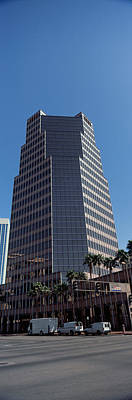 Low Angle View Of An Office Building Art Print by Panoramic Images