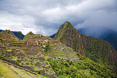 Photograph - Machu Picchu by Alexey Stiop
