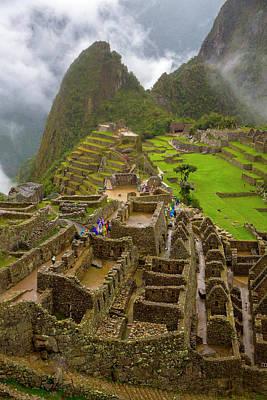 Cusco Photograph - Machu Picchu, Cusco Region, Urubamba by Douglas Peebles