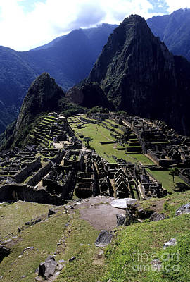 Photograph - Machu Picchu Peru by Ryan Fox
