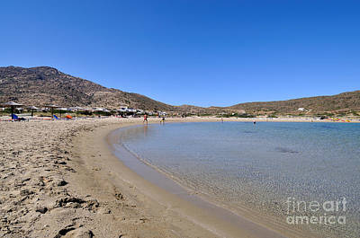 Photograph - Maganari Beach by George Atsametakis