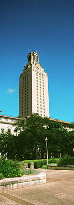 Main Building Of University Of Texas Art Print by Panoramic Images