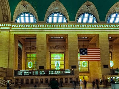 Target Threshold Nature - Main Concourse at Grand Central Terminal by SAURAVphoto Online Store
