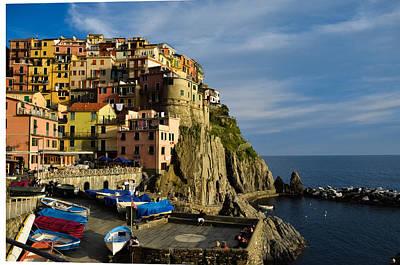 Photograph - Manarola - Cinque Terre by Dany Lison