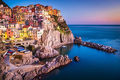 Photograph - Manarola by Stefano Termanini