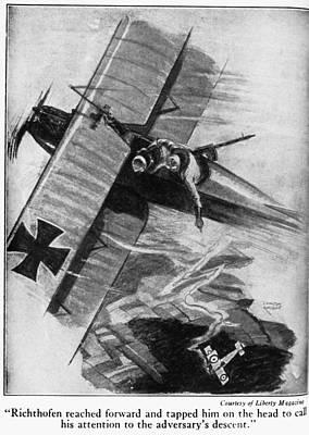 Manfred Von Richthofen (1892-1918) Art Print by Granger