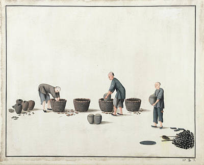 Manufacture Photograph - Manufacture Of Vermilion by British Library