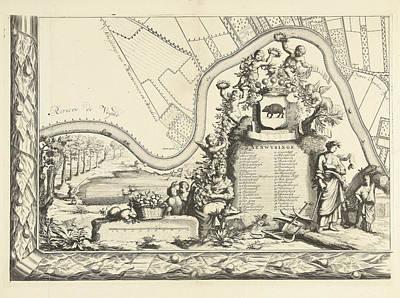 Map Of The Heerlijkheid Maarsseveen, The Netherlands Art Print