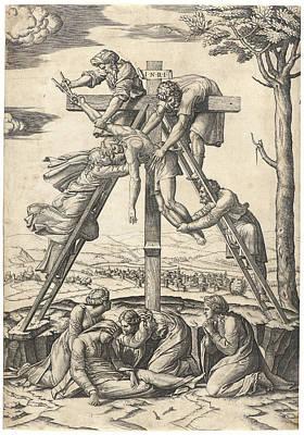 Thought Drawing - Marcantonio Raimondi Italian, Ca. 14701482 - 15271534 by Litz Collection