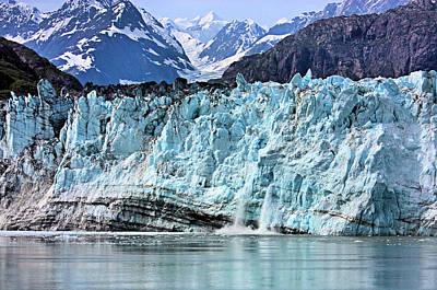 Photograph - Margerie Glacier by Kristin Elmquist