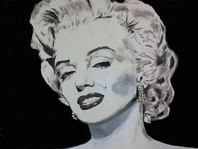 Painting - Marilyn Monroe by Dan Twyman