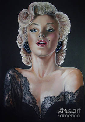 Painting - Marilyn Monroe by Leida  Nogueira