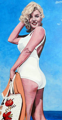 Painting - Marilyn Monroe by Tom Roderick