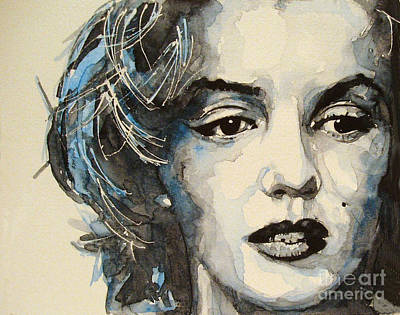 Marilyn Monroe Painting - Marilyn by Paul Lovering