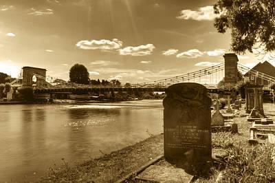 Photograph - Marlow Bridge by Chris Day