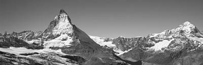 Snow-covered Landscape Photograph - Matterhorn Switzerland by Panoramic Images
