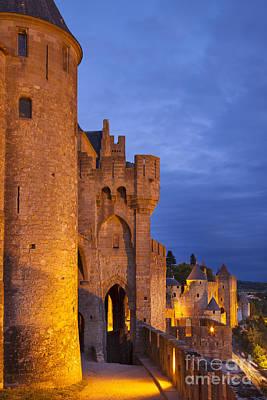 Medieval Carcassonne Art Print by Brian Jannsen
