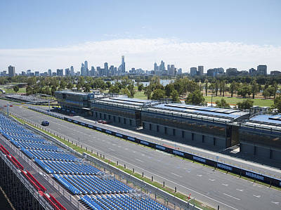 Photograph - Melbourne Grand Prix Circuit, Albert by Rob Huntley