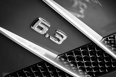 Photograph - Mercedes-benz 6.3 Gullwing Emblem by Jill Reger