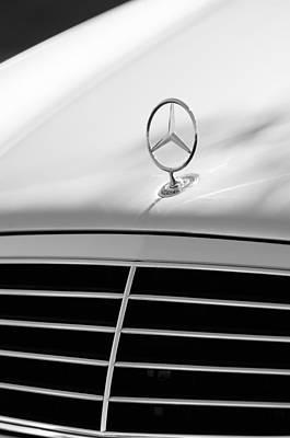 Photograph - Mercedes-benz Hood Ornament by Jill Reger