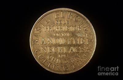 Dr. Teeth Photograph - Merchant's Token, 19th Century by Science Photo Library