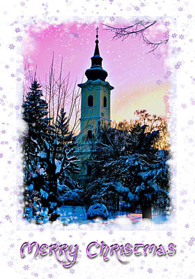 Photograph - Christmas Card 22 by Nina Ficur Feenan