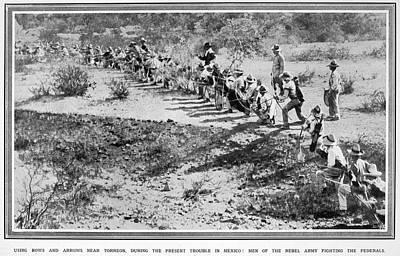 Mexican Revolution, 1914 Art Print by Granger