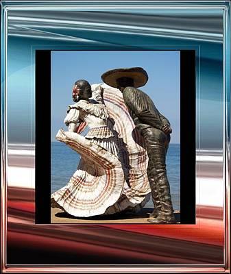 Mexican Dance Digital Art - Mexico by Athala Carole Bruckner