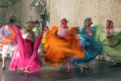 Mexico, Oaxaca, Mexican Folk Dance Art Print