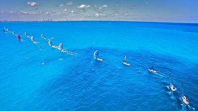 Photograph - Miami Horizon by Steven Lapkin