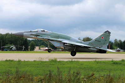 Photograph - Mig-29smt Jet Fighter Of Russian Air by Artyom Anikeev