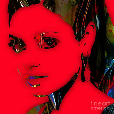 Movie Art Mixed Media - Mila Kunis Collection by Marvin Blaine