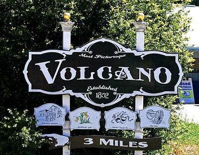 3 Miles To Volcano Art Print by Joseph Coulombe