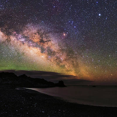 Antares Photograph - Milky Way Over La Palma by Babak Tafreshi