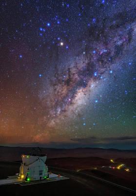 Antares Photograph - Milky Way Over Paranal Observatory by Babak Tafreshi