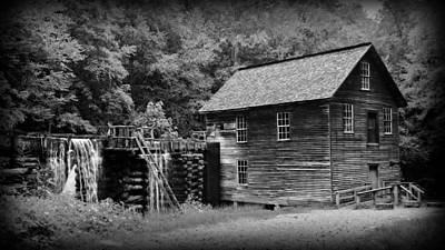 Grist Mill Photograph - Mingus Mill by Stephen Stookey