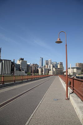 Photograph - Minneapolis Skyline by Frank Romeo