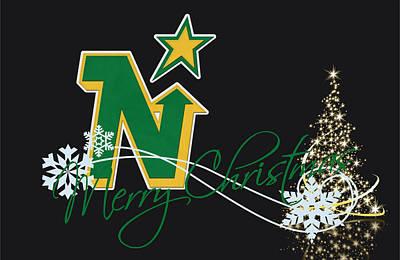 Minnesota North Stars Art Print by Joe Hamilton