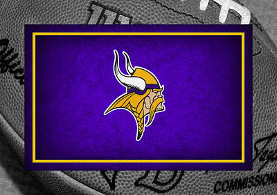 Minnesota Vikings Art Print by Joe Hamilton