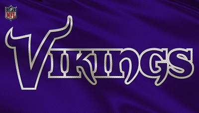 Vikings Photograph - Minnesota Vikings Uniform by Joe Hamilton