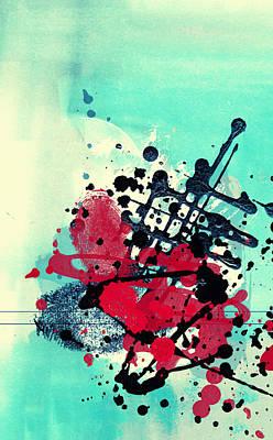 Nirvana - Mixed media abstract by Modern Abstract