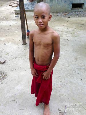 Photograph - Monastery For Orphans Near Shwenandaw Kyaung Mandalay Burma by PIXELS  XPOSED Ralph A Ledergerber Photography