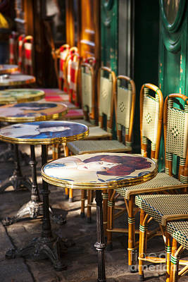 Photograph - Montmartre Cafe by Brian Jannsen