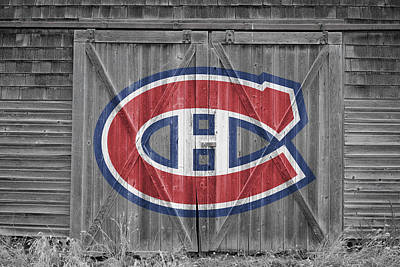Photograph - Montreal Canadiens by Joe Hamilton